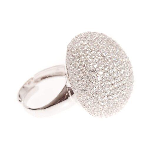 Mushroom silver ring 4