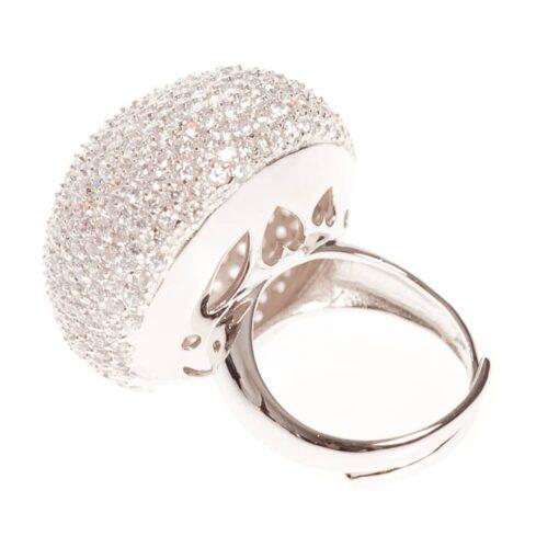 Mushroom silver ring 5
