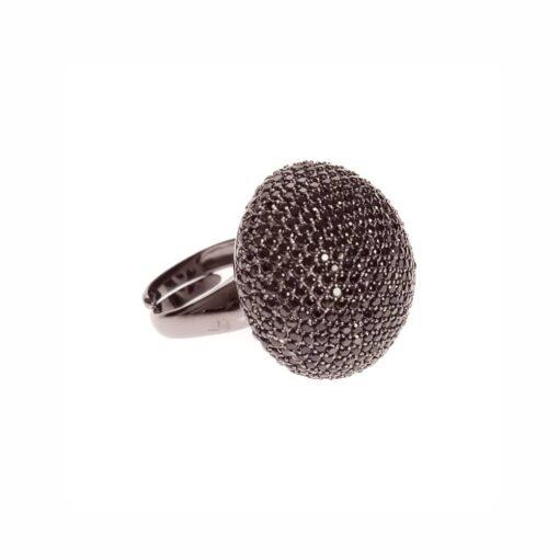 خاتم الفطر الأسود الفضي 2