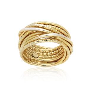 金银戒指,闪闪发光的设计师线4