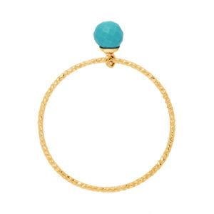 金银戒指绿松石珍珠5