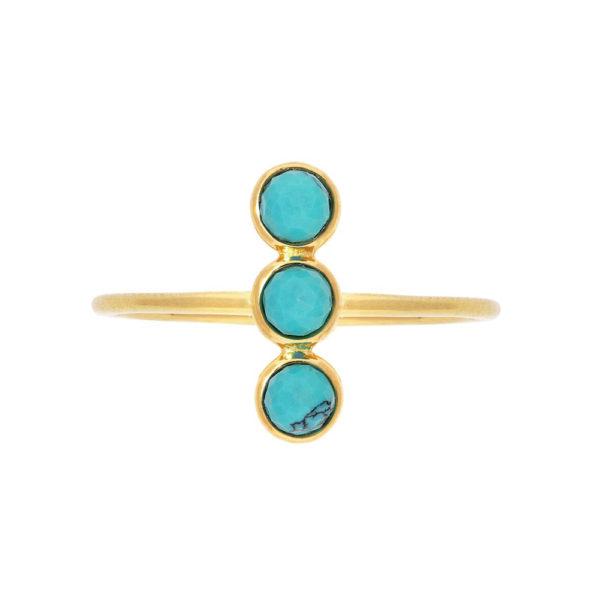 金银戒指三部曲颜色绿松石收藏1