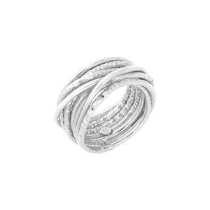 银戒指,闪闪发光的设计师线6