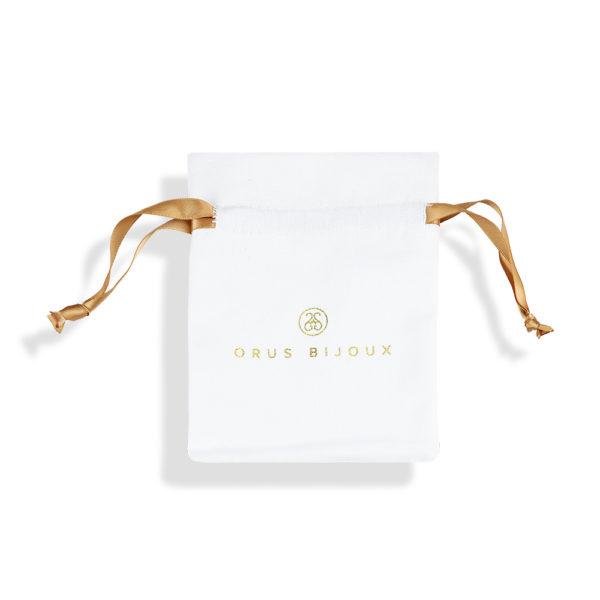 金色银色徽章项链,配以橙色宝石2
