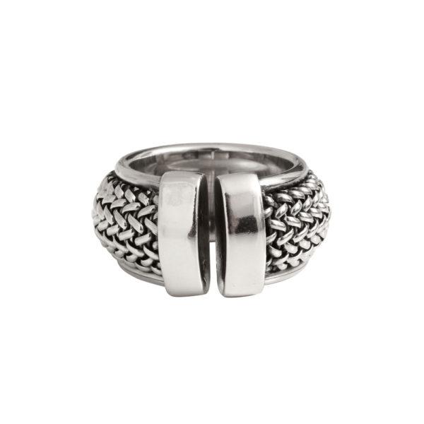 Silver rock attitude 3 ring