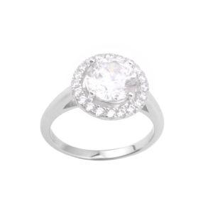 单石戒指镶嵌氧化锆5