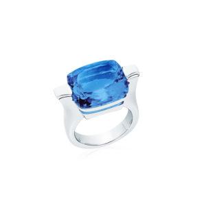 雅典娜蓝色石英戒指6