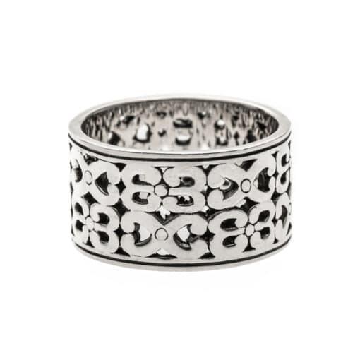 Man ring infinite silver 3
