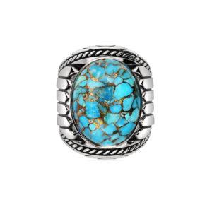 印度银绿松石戒指5