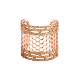 粉色蜂窝状戒指3