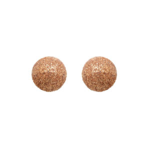 银耳环粉红球4