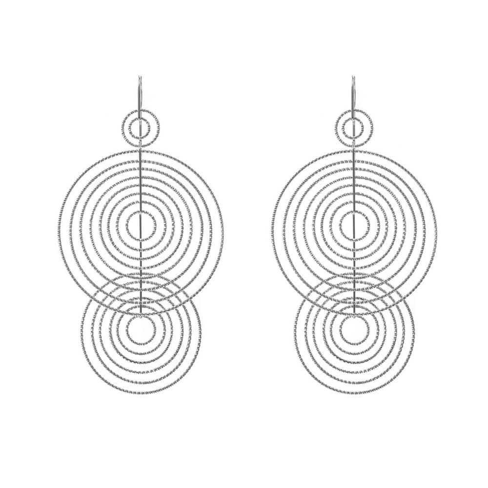 Boucles d'oreilles argent diamanté Arianna bis 3