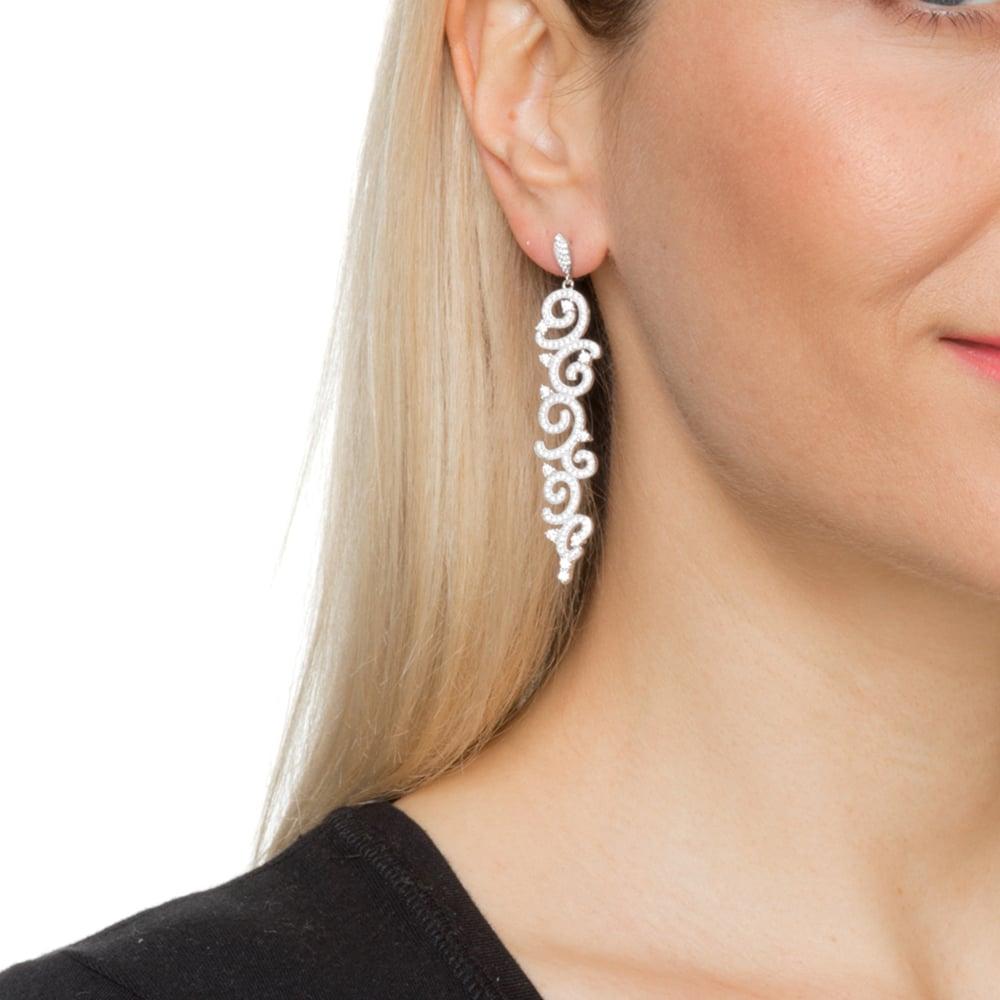 Boucles d'oreilles argent mauresque 4