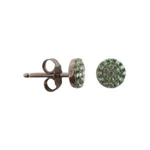 银耳环芯片组与绿色8