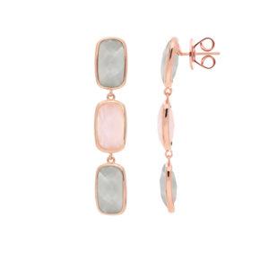 粉色长款西斯利耳环4