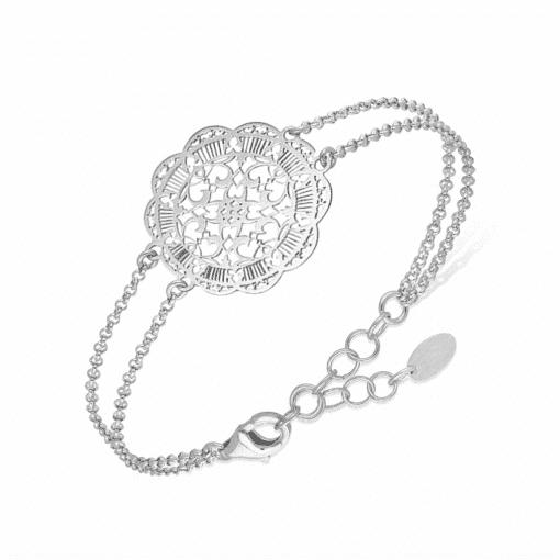 Bracelet acanthe argent 3