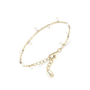 小滴银手链,月光石珠4