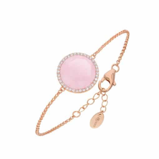 Pink disc bracelet 3