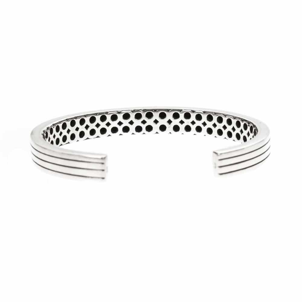 Bracelet esclave argent moderne ajustable 5