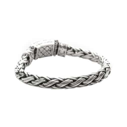 Bracelet homme argent exotique 5