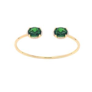 银绿色水晶手镯7