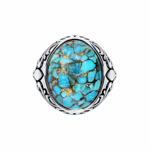 Royal signet turquoise silver 3
