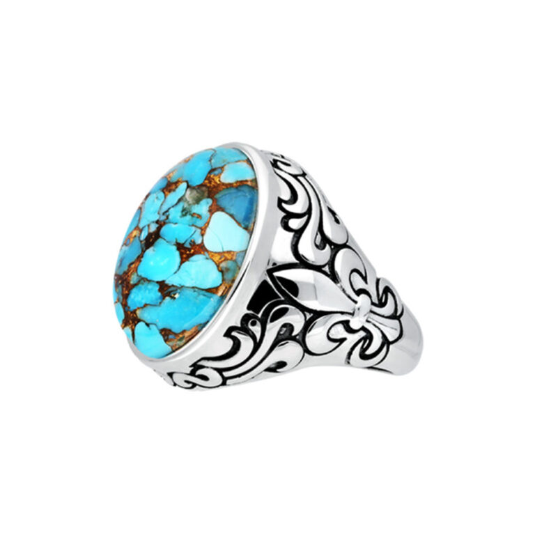Royal signet turquoise silver 4