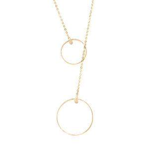 金银项链,配以气泡领带和月光石5