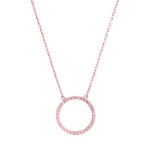 粉红银项链白色生活圈3