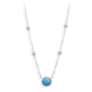 银项链情人节水晶绿松石6