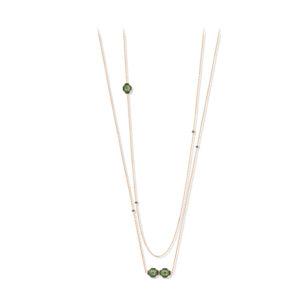 绿色水晶金色长项链6