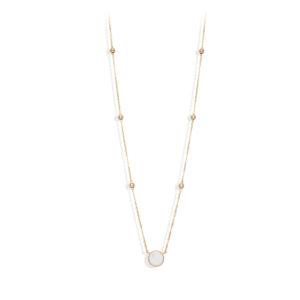 长项链银镀金情人节白水晶3