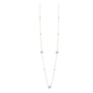 长项链银金项链情人节水晶绿水5