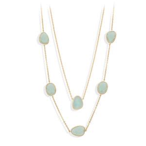 长项链长金银维多利亚水晶绿水4