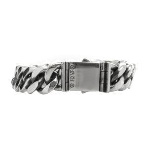 Gourmette bracelet argent grand modèle 7