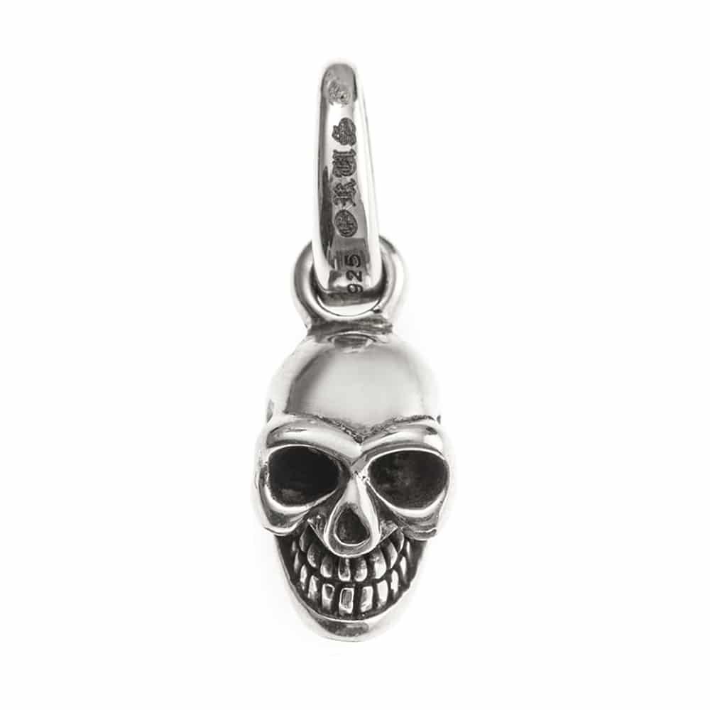 Pendentif argent skull tête de mort 2